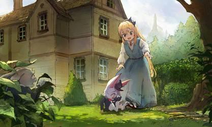 Alice in Wonderland by sishenfan