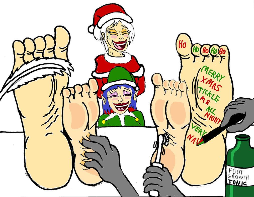 A Ticklish Christmas by alexiaNBC