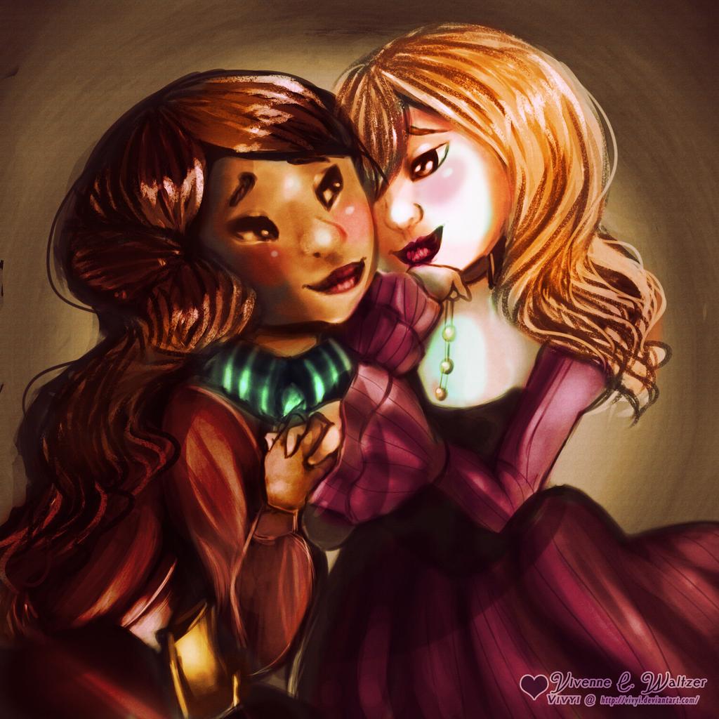 Romantic Encounter by Vivyi