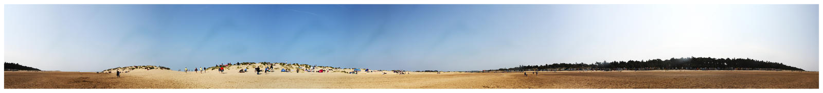 360 Degree Beach Panorama by TakeMeToAnotherPlace