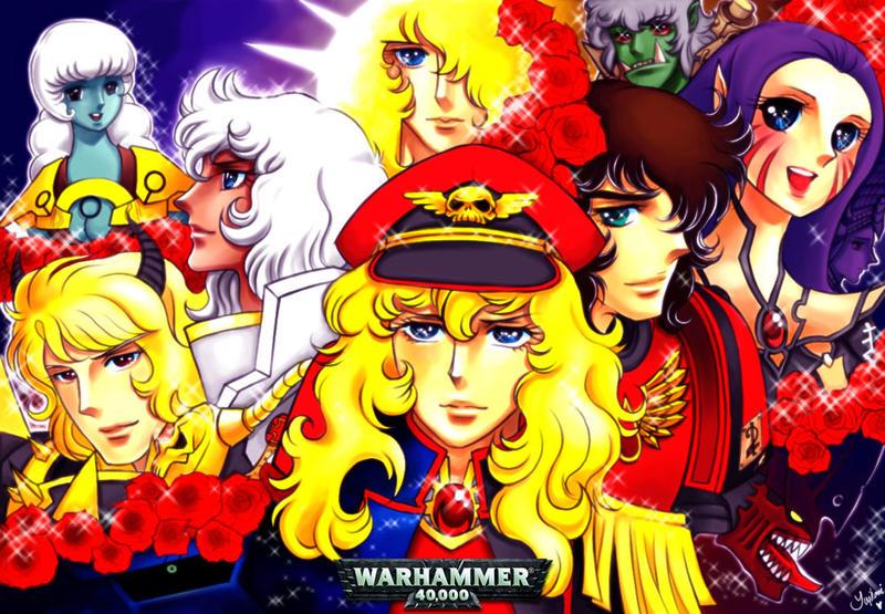 Warhammer Versailles 40K