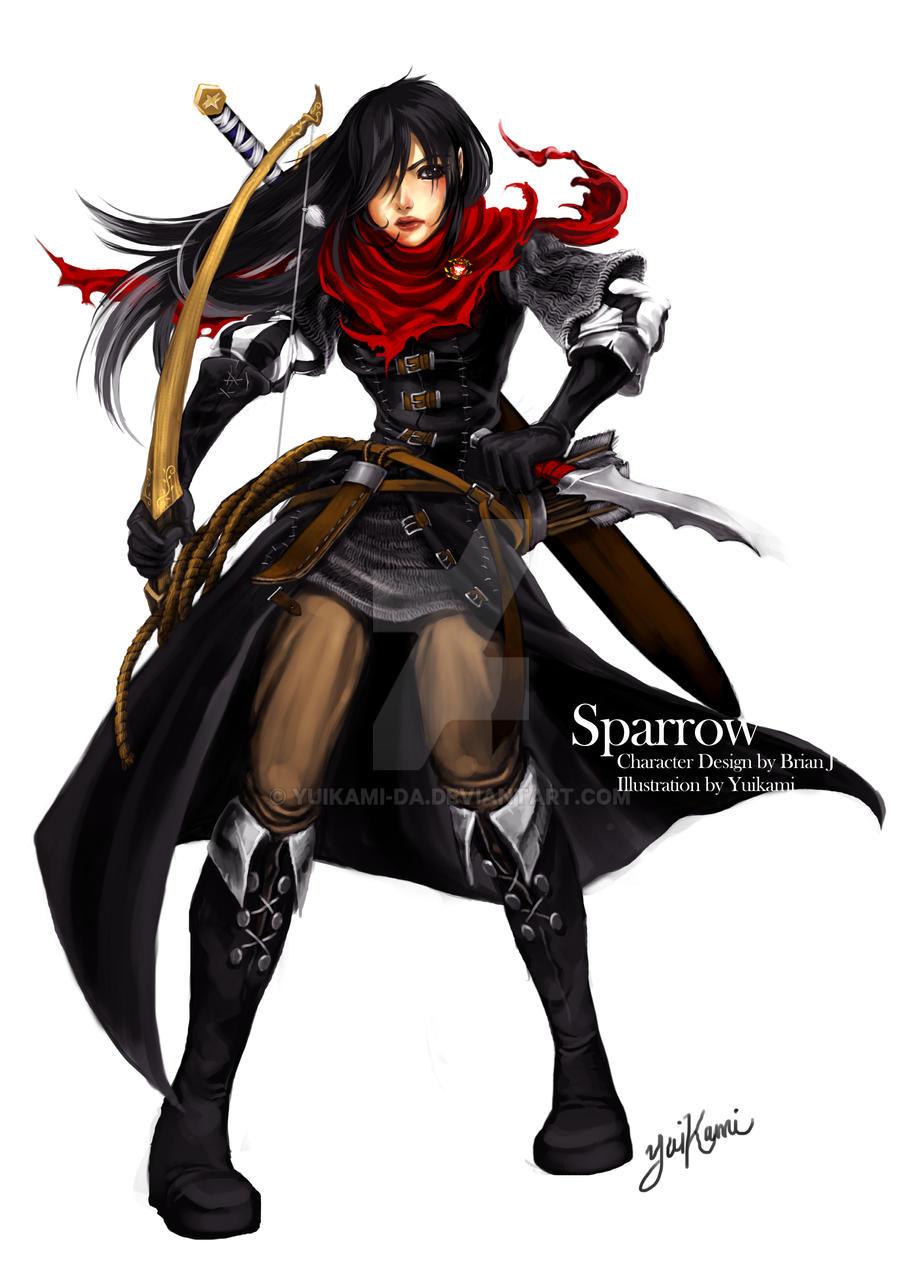 Sparrow, the Bounty Hunter by yuikami-da