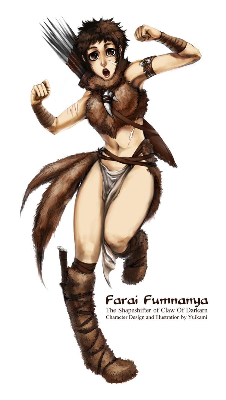 Farai Fumnanya The Ranger by yuikami-da
