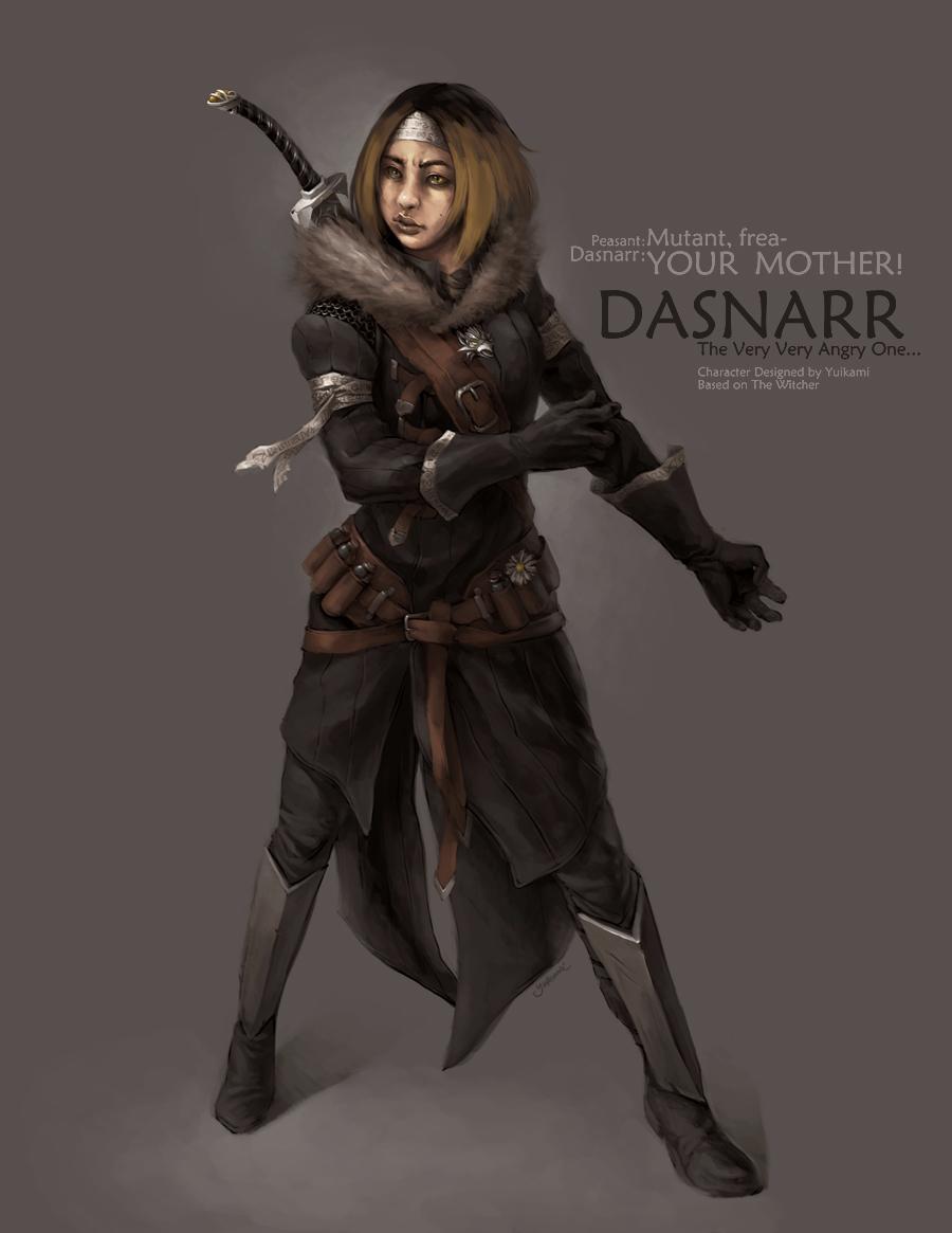 Dasnarr, The Witcher by yuikami-da