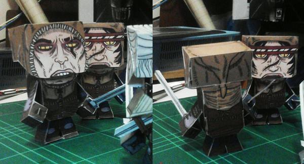 TW2 - AUCKES Paper craft photo by yuikami-da