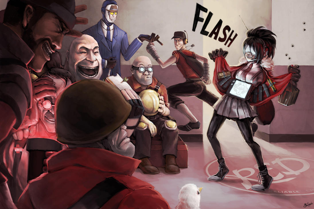 Tf2 Flash Game Scout