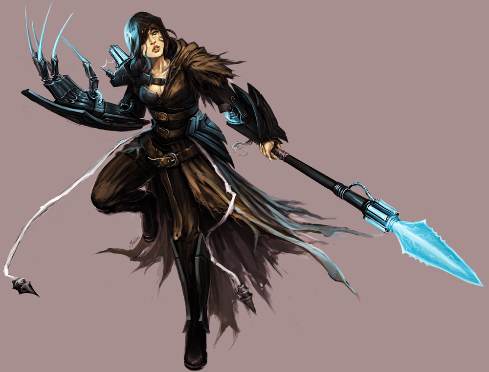 Pathfinder - Technic League by yuikami-da