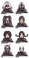 Borderlands OC - MORIONA custom heads
