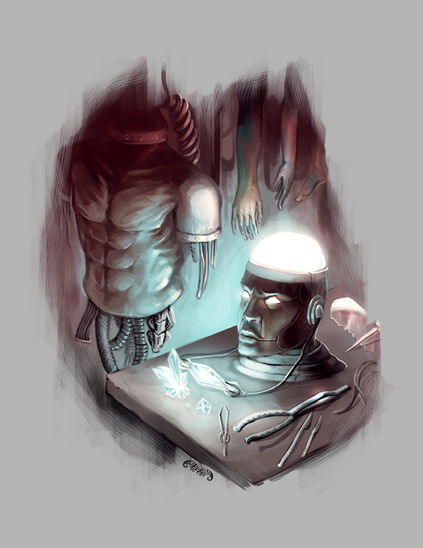 Legendary Games - Cyborgs Cover by yuikami-da