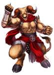 Wayfinder#14 - Minotaur Brawler