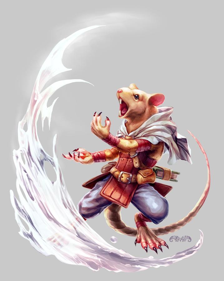 Wayfinder#15 - Chittri Drenchfur by yuikami-da