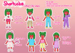 Shortcake: Clothing and Style Samples