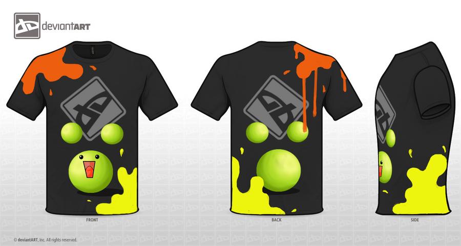 LAAAA - shirt design by albino-panda