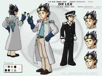 Dr Lex - Design by aprilchild