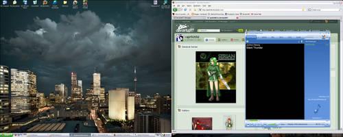 Desktop at the start of 2009 by aprilchild