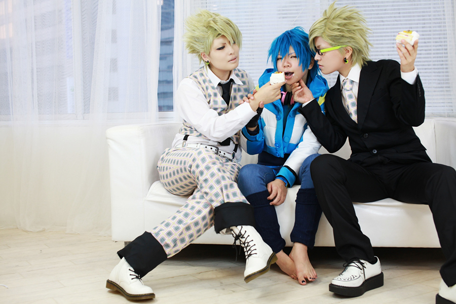 DRAMAtical Murder 'Cake Play!' by AkiraKirihara
