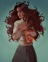 Hermione Granger by DJune-y