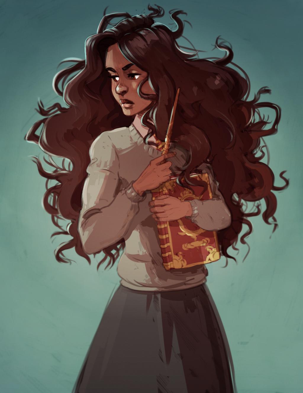 Hermione Granger By Djune Y On Deviantart