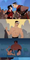 Voltron Mulan au