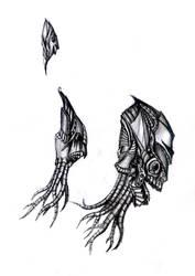 fantasy  heads drawings