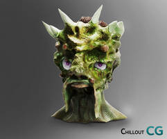 goblin head by uros97