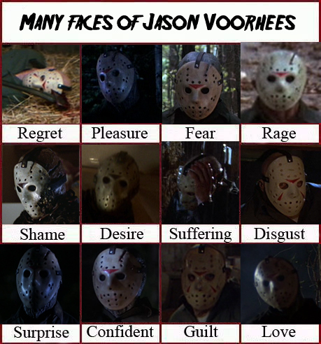Many faces of Jason Voorhees by CyberII