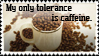 My only tolerance stamp by CyberII