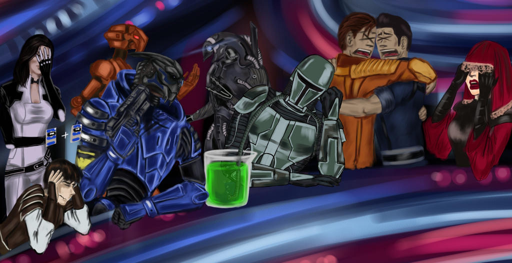 Worst Party in the Galaxy: Unfortunate Spectators by CyberII
