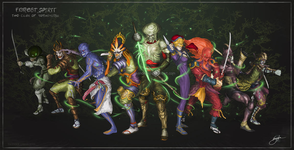 Gang Of Yoshimitsu By Iskendera On Deviantart
