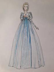lucrezia's dress by AMeanGirl