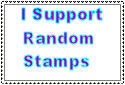 I support - random stamps by Zutaraalltheway