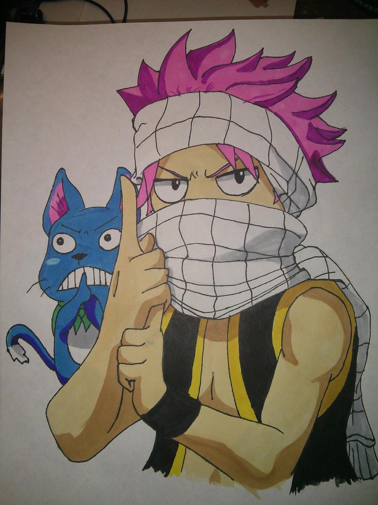 natsu and happy ninjas by ohmydj0nt000 on deviantart