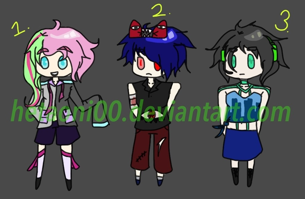 Random Adopts [EDIT: NOW SET PRICES] [1/3 OPEN] by Hetaoni00