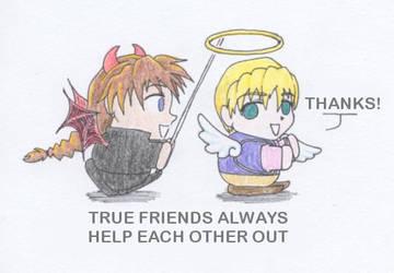 True Friends by Shella