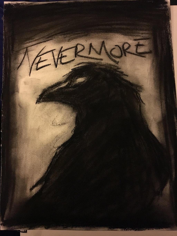 Célèbre Edgar Allan Poe: The Raven by ArtisticWaffles on DeviantArt YK95