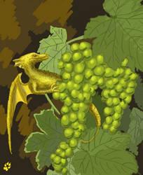 Grapes' dragon by Lothindil