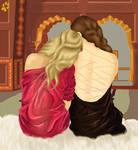 Aleyah et Emilia by Lothindil
