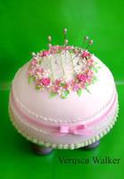 Pincushion Cake by Verusca