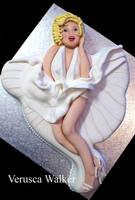Marilyn Monroe Cake by Verusca
