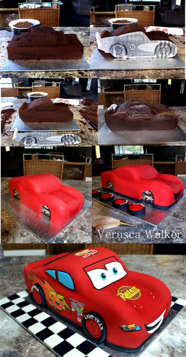 mcqueen Step-by-step by Verusca