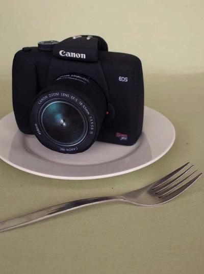 Canon Cake by Verusca