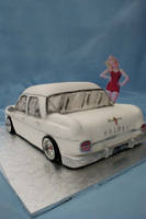 EJ Holden 3D Car cake by Verusca