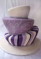 topsy turvy cake by Verusca