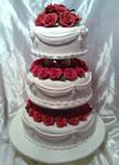 3 Tier Classic Wedding Cake by Verusca
