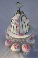 Bird Love Cake by Verusca