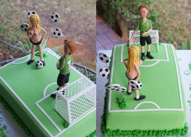Soccer Cake by Verusca