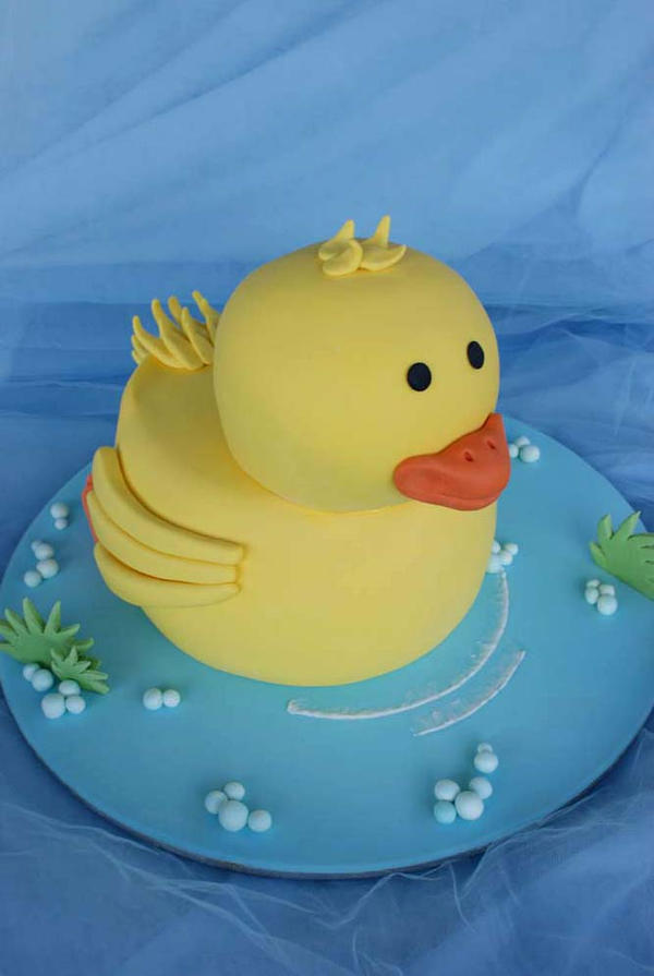 3d duck cake by verusca on deviantart