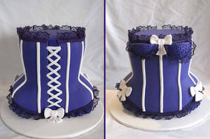 3D Corset Cake by Verusca
