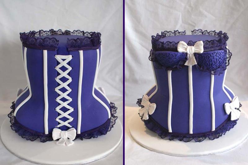 3D Corset Cake