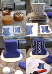 Step-by-step 3D Corset Cake
